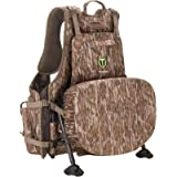 TIDEWE Turkey Vest with Seat, Hunting Vest with Game Pouch and Kickstand, Strut Camo Turkey Hunting Clothes for Men…