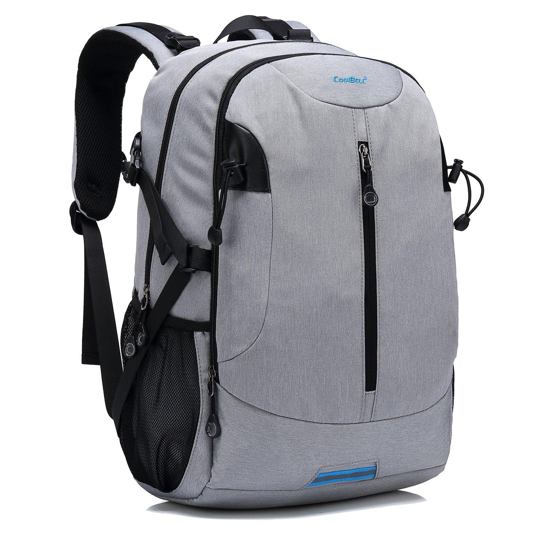 lovely CoolBELL Multi-functional Rucksack Travel Knapsack  Lightweight  School Daypack   15.6 Inch Laptop d24323c629