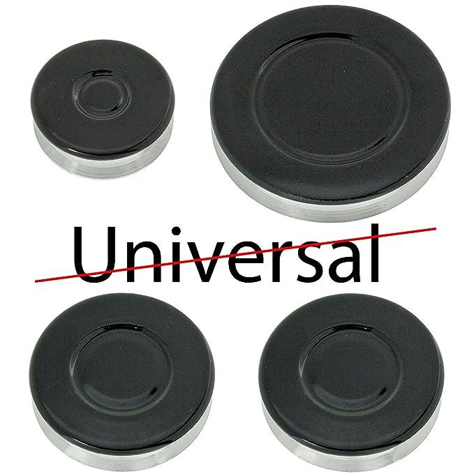 SIEMENS Oven Cooker Gas Hob Burner /& Flame Cap Crown Black Small Medium Large