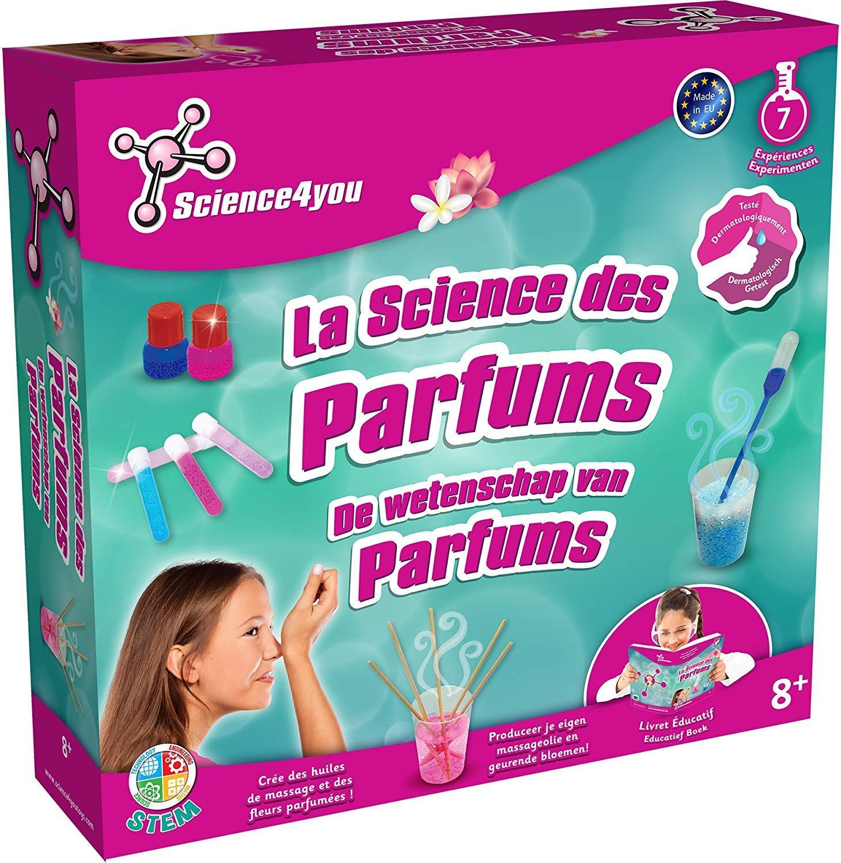 Science4You Jeu Scientifique SY611030 Kit moyen Labo des Parfums