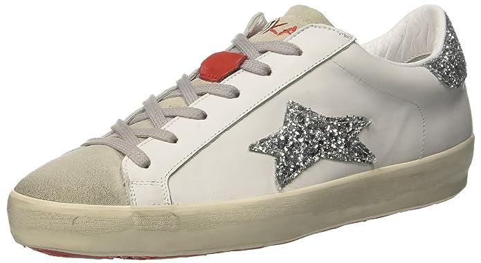 Low, Sneaker a Collo Basso Unisex Adulto, Bianco (1003), 37 EU Ishikawa