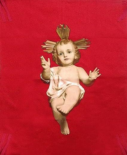 Fotos De Navidad Del Nino Jesus.Movilcom Colgadura Del Nino Jesus Para Navidad Bandera Nino Jesus 105cm X 75cm