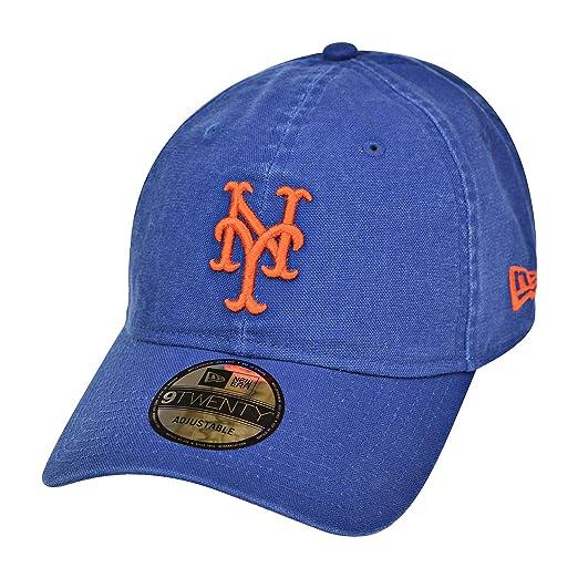 8a301754ada Amazon.com  New York Mets New Era MLB 9Twenty Primary Core Classic ...