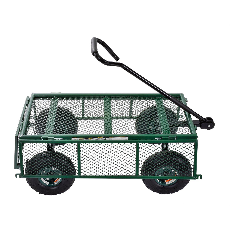 400 lb Sandusky Lee CW3418 Muscle Carts Steel Utility Garden Wagon 21-3//4 Height x 34 Length x 18 Width Load Capacity