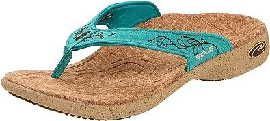 SOLE Women's Casual Flips Flip Flop Sandal,Aldega Teal,6