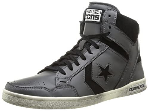 d91c083d392d Converse Men s Weapon HI Leather Suede Trainers  Amazon.co.uk  Shoes ...