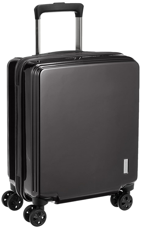 [アクタス] ACTUS スーツケース コインロッカーサイズ対応 ファスナーハードキャリー B01N1NNZV7 ブラック ブラック