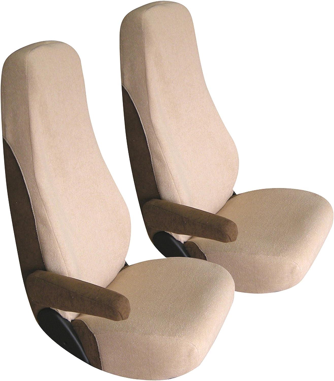 Bancarel Ccs5 Sitzbezug Aus Frottee Beige 2er Set Auto