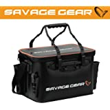 Savage Gear, borsa Boat & Bank, misura S (37,5 x 25 x 25 cm), da pesca per spinning, per pescatori, per lampeggianti, per esche