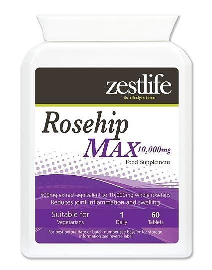 ROSA MOSQUETA 2000mg 2 x 60 de alto contenido de vitamina C ...