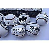 Breezy Hampton O'Neills Hurling Balls Sliotars GAA Official Size 4 Balls CLG Logo(12 Sliotar)