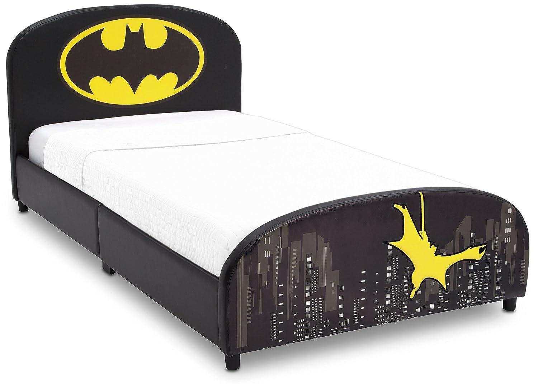 Delta Children Upholstered Twin Bed DC Comics Batman