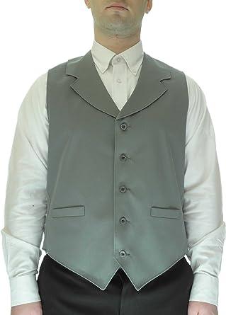 SixStarUniforms Mens Notch Lapel Vest