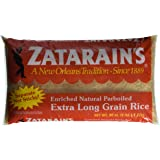 Zatarain's Enriched Extra Long Grain Parboiled Rice 5 LBS