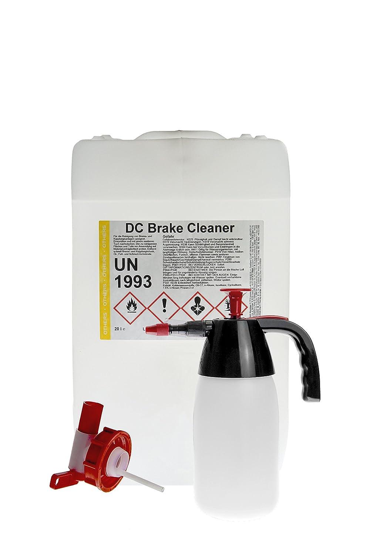 Bremsenreiniger 10 Liter Kanister + Auslaufhahn + Pumpsprü her - DC Brake Cleaner DC DruckChemie GmbH