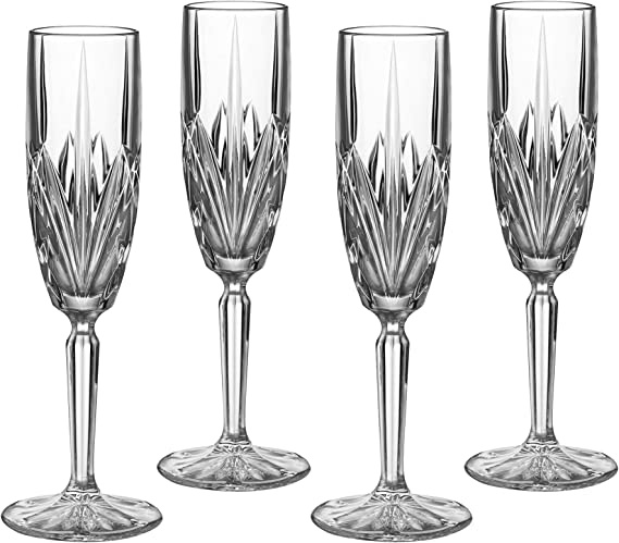 Marquis by Waterford Brookside 6-Ounce Champagne Flutes