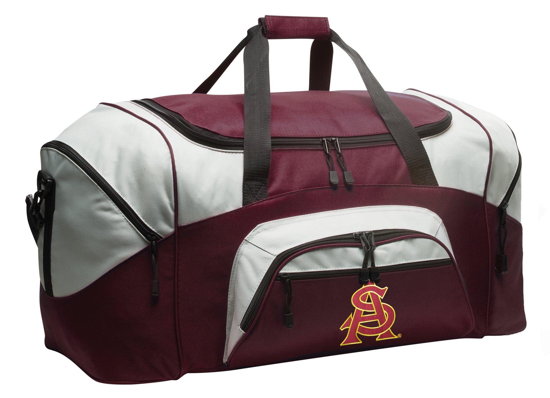 Broad Bay Large ASU Sun Devils Gym Bag Deluxe ASU Duffle Bag by Broad Bay (Image #1)