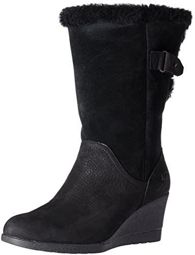 a519a84c6a0f UGG Women s Edelina Winter Boot Black 5 M US