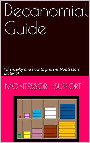Decanomial Guide: When, why and how to present Montessori Material (Sensorial Material) (English Edition)