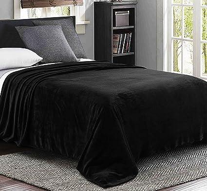 queen bed blanket Amazon.com: Exclusivo Mezcla Luxury Queen Size Flannel Velvet  queen bed blanket