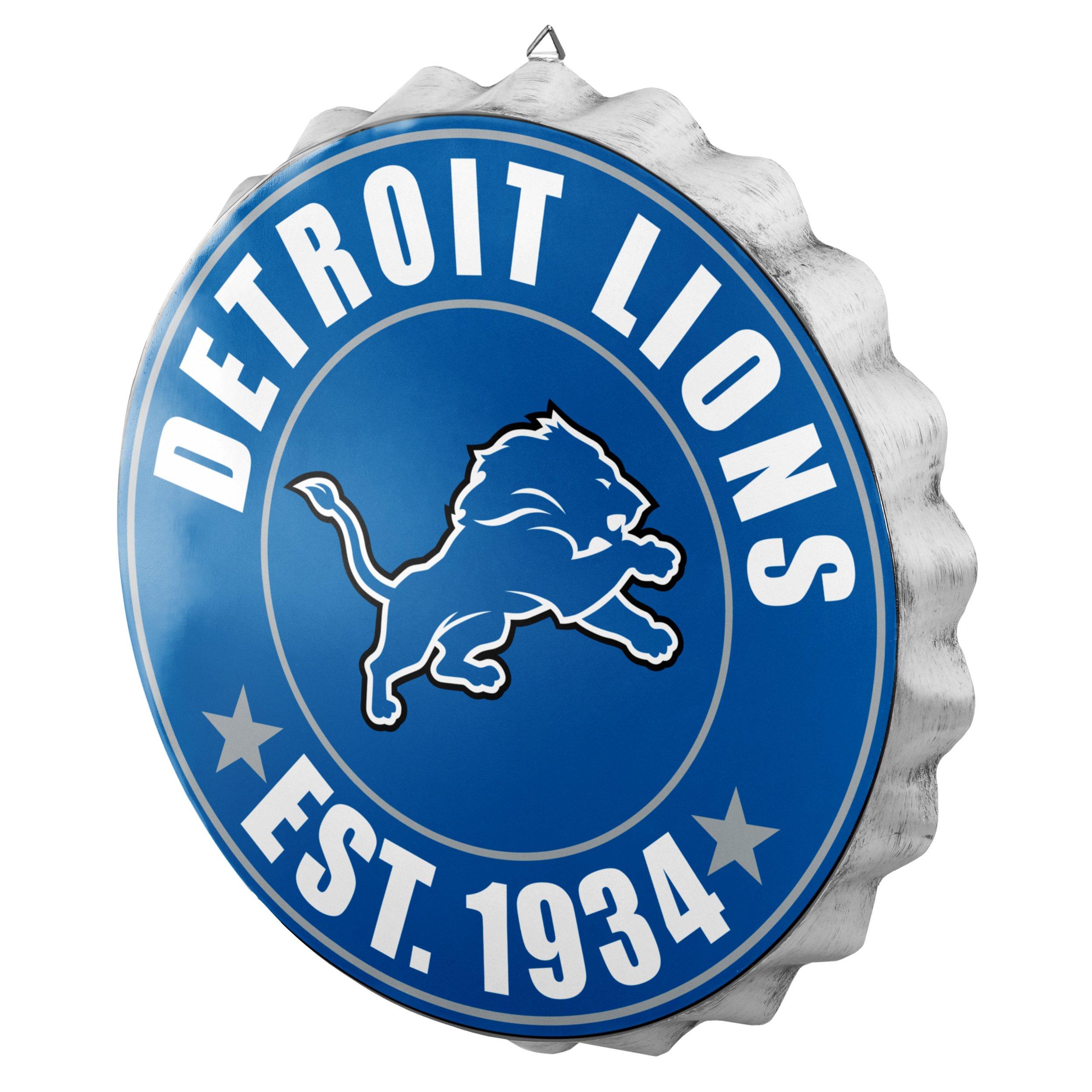 Detroit Lions 2016 Bottle Cap Wall Sign by FOCO