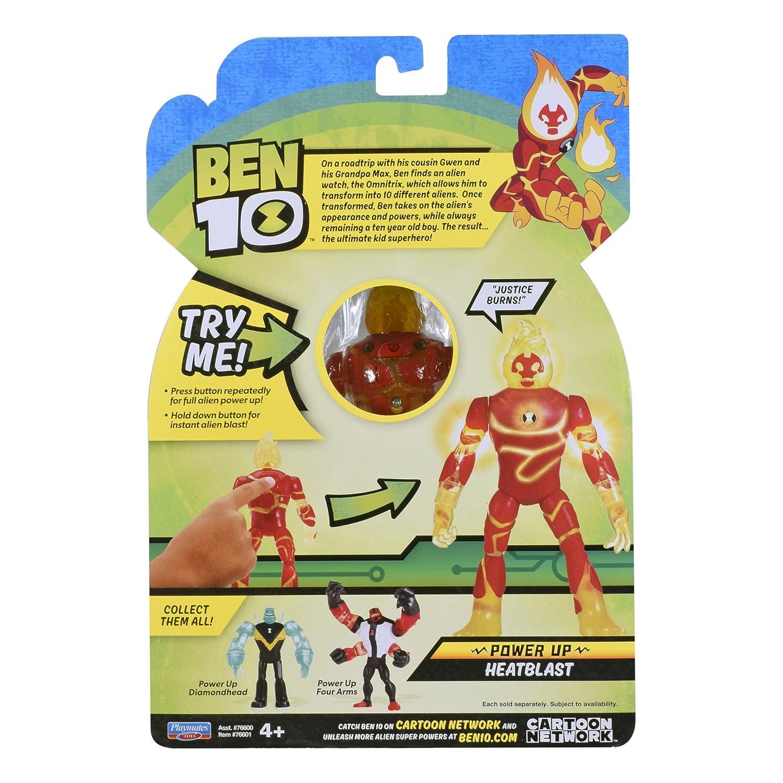 BEN 10 RATH FIGURE ALIEN SABRETOOTH TIGER HERO CARTOON NETWORK
