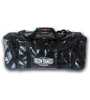224fea574f0a Amazon.com: Iron Tanks Raven Black Gym Bag - Powerlifting ...