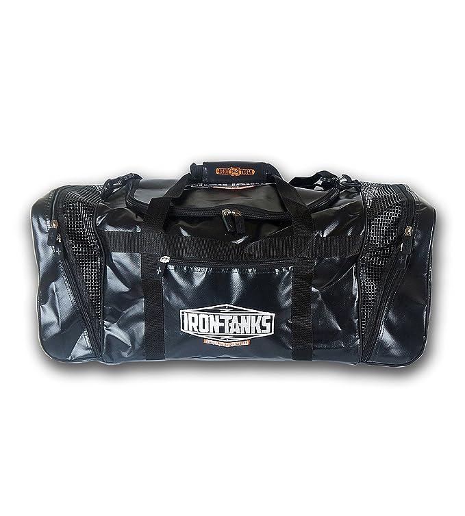 Amazon.com: Hierro tanques Pro bolsa deportiva negro ...