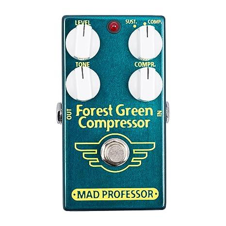 Mad Professor Forrest Green Compressor · Pedal guitarra eléctrica