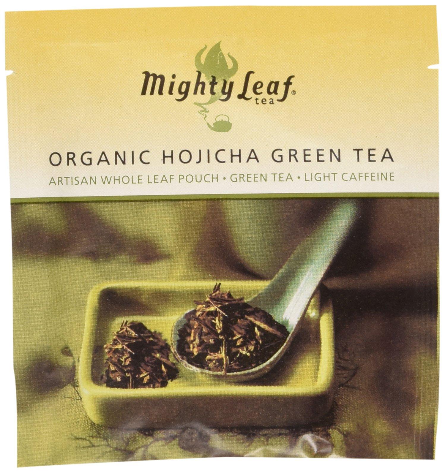 Mighty Leaf Organic Hojicha Green Tea, 100 Tea Pouches by Mighty Leaf Tea