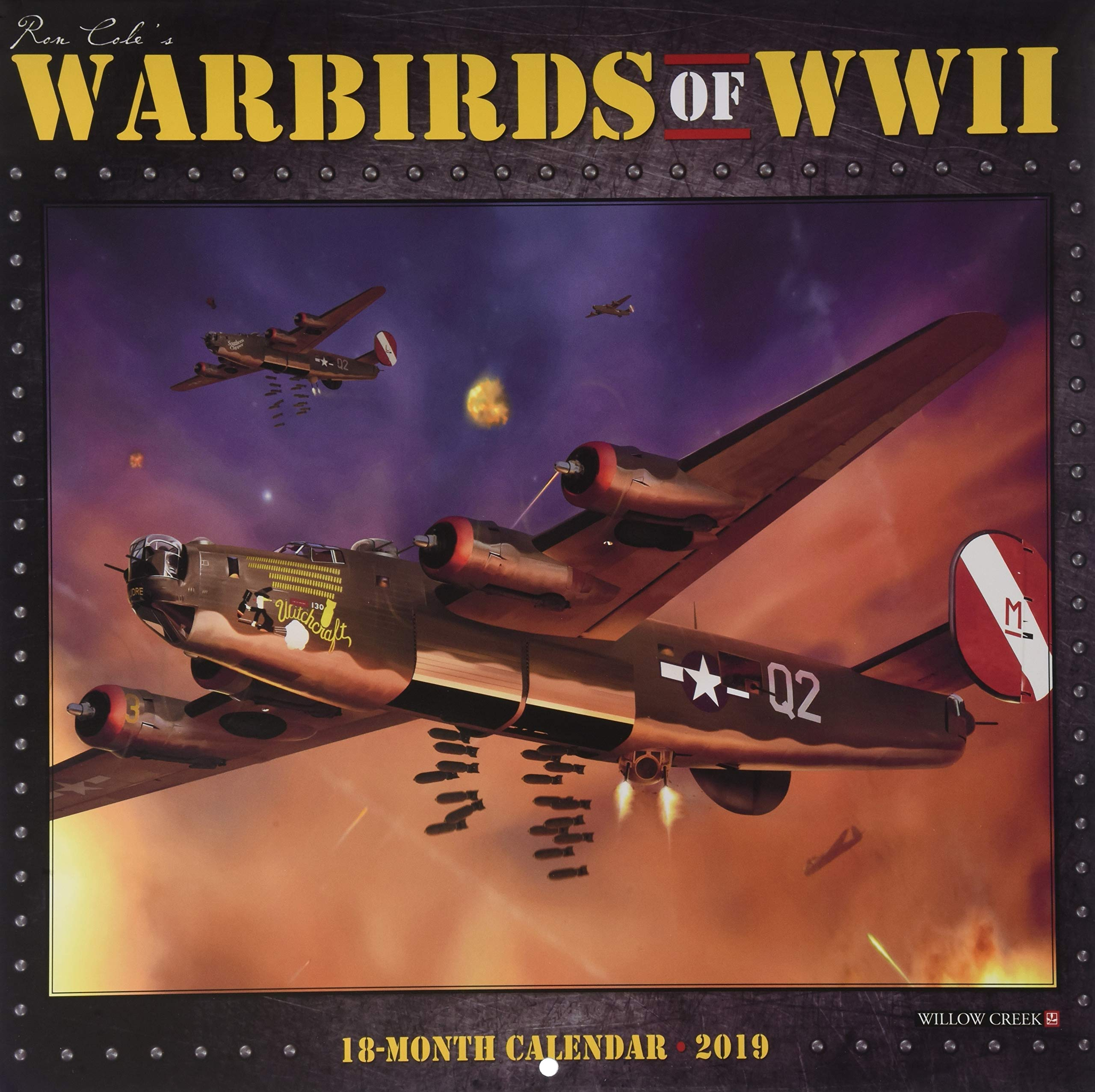 Warbirds of WWII 2019 Wall Calendar: Willow Creek Press