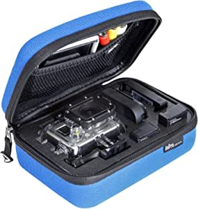 SP Gadgets POV Case 3.0 for GoPro (X-Small, Blue)