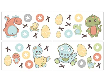 CoCaLo Wall Decals Dinos at Play (Discontinued by Manufacturer)  sc 1 st  Amazon.com & Amazon.com : CoCaLo Wall Decals Dinos at Play (Discontinued by ...