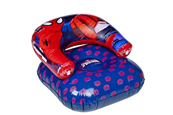 Terrific Spiderman Inflatable Childrens Kids Moon Chair Beach Pool Pabps2019 Chair Design Images Pabps2019Com