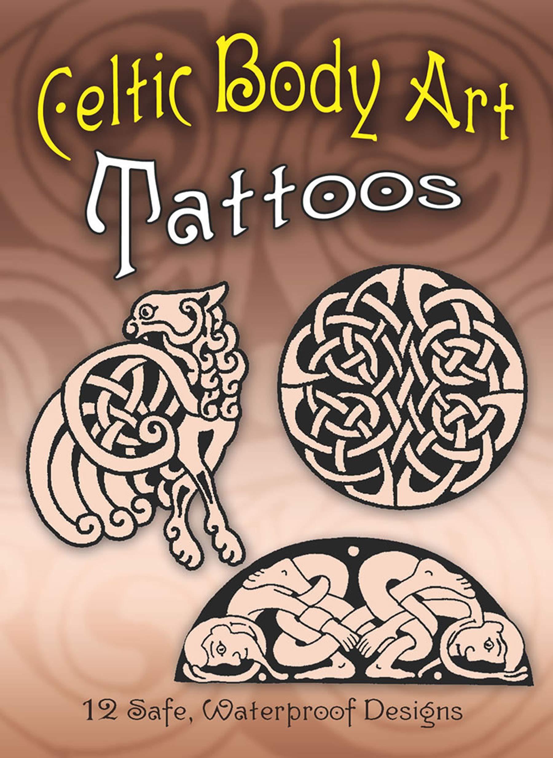 Celtic Body Art Tattoos Dover Tattoos Anna Pomaska 0800759416493 Amazon Com Books