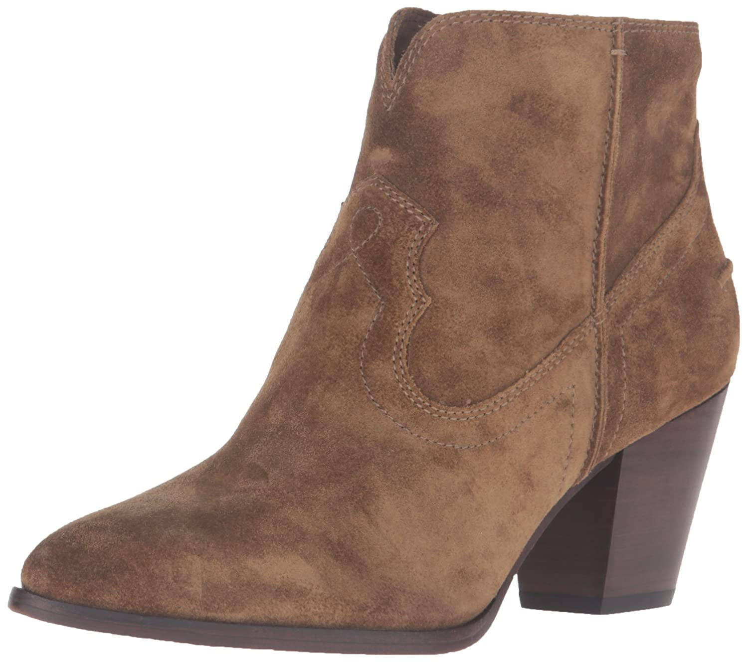 FRYE Women's Renee Seam Short Boot B01A9YI9MW 6.5 B(M) US|Cashew-72063