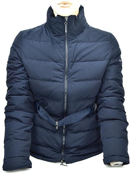 Armani Jeans Abrigo DE Plumas para Mujer Art. 6Y5B07 40 EU - 4 USA BLU Notte - Night Blue: Amazon.es: Ropa y accesorios