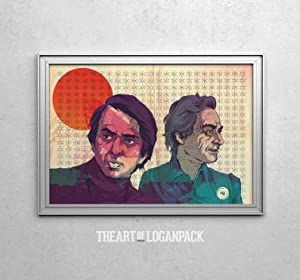 IceCream3DStore Science - Carl Sagan & Richard Feynman Horizontal Poster | Funny Gift for Home Decor Wall Art Print Poster | Full Size 18x12 24x16 36x24 40x27 | Movie Poster