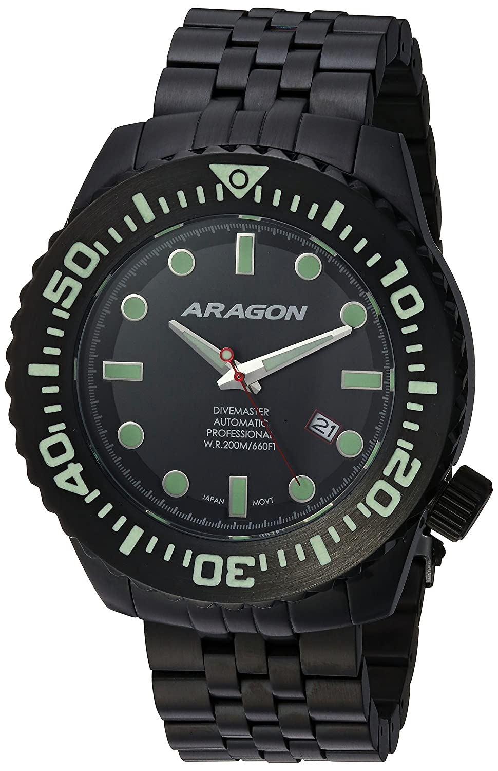 Image of ARAGON A253BLK Divemaster EVO 50mm Automatic
