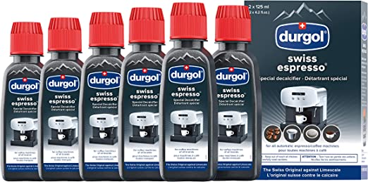 Amazon.com: Durgol Swiss 0291 Espresso decalcifier 4.2 oz 3 ...