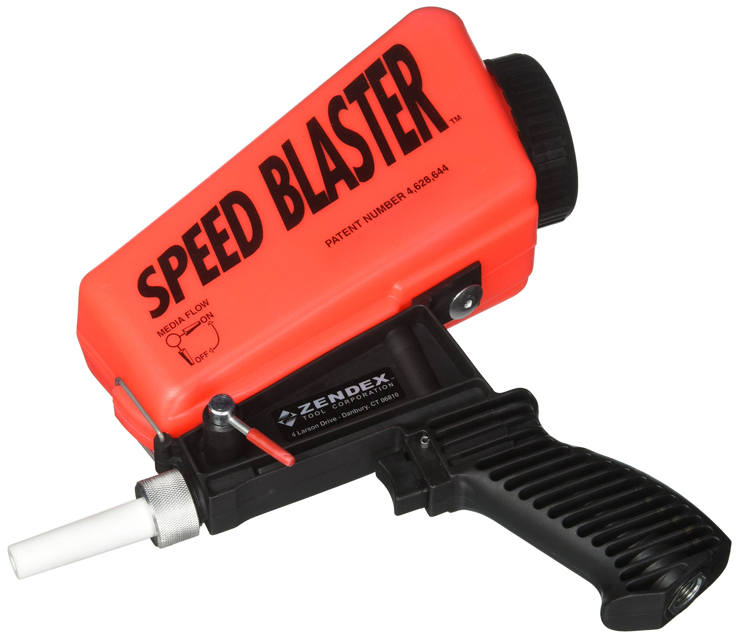 SpeedBlaster Gravity Feed Media Blaster - Red