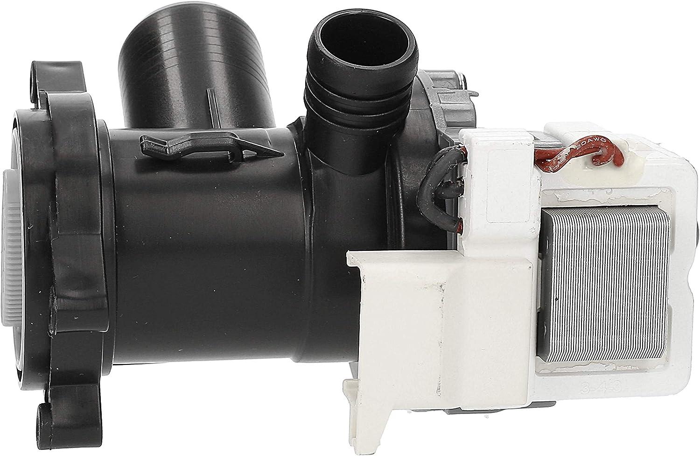 Wessper Ablaufpumpe f/ür 855493603000 WA CARE 12 DI BAUKNECHT Waschmaschine
