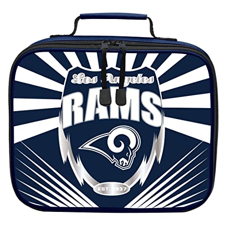 e0758391 The Northwest Company Officially Licensed NFL Los Angeles Rams Lightning  Kids Lunch Kit, Blue