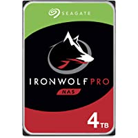 Seagate IronWolf Pro 4TB NAS Internal Hard Drive HDD – 3.5 Inch SATA 6Gb/s 7200 RPM 128MB Cache for RAID Network…