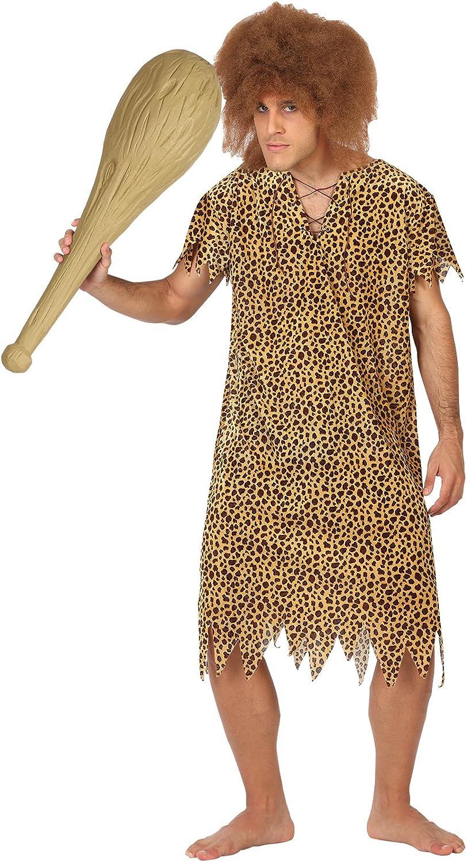 Atosa - Disfraz de cavernícola para hombre (111-28283): Amazon.es ...