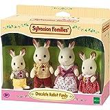 Sylvanian Families - 3125 - Poupées Et Accessoires - Famille Lapin Chocolat