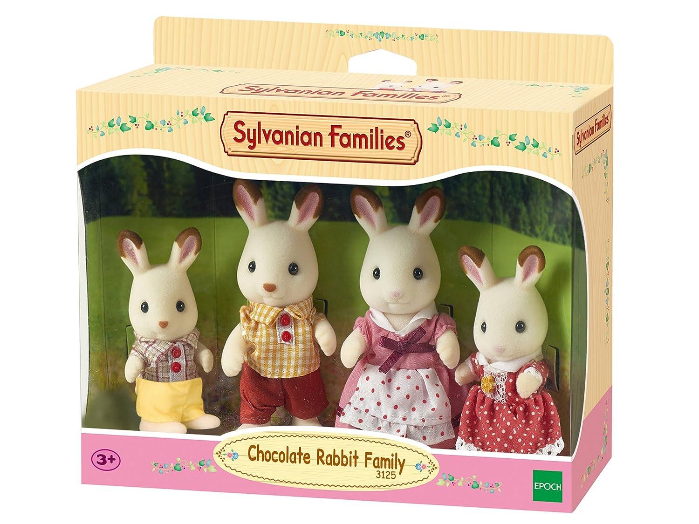 Amazones Sylvanian Families  Familia Conejos de Chocolate
