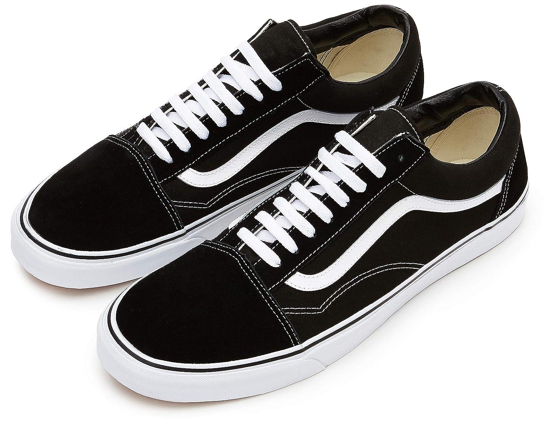 796d9dfc9 Vans Old Skool Classic Suede Canvas - Sneaker Alta Unisex Adulto   Amazon.es  Zapatos y complementos