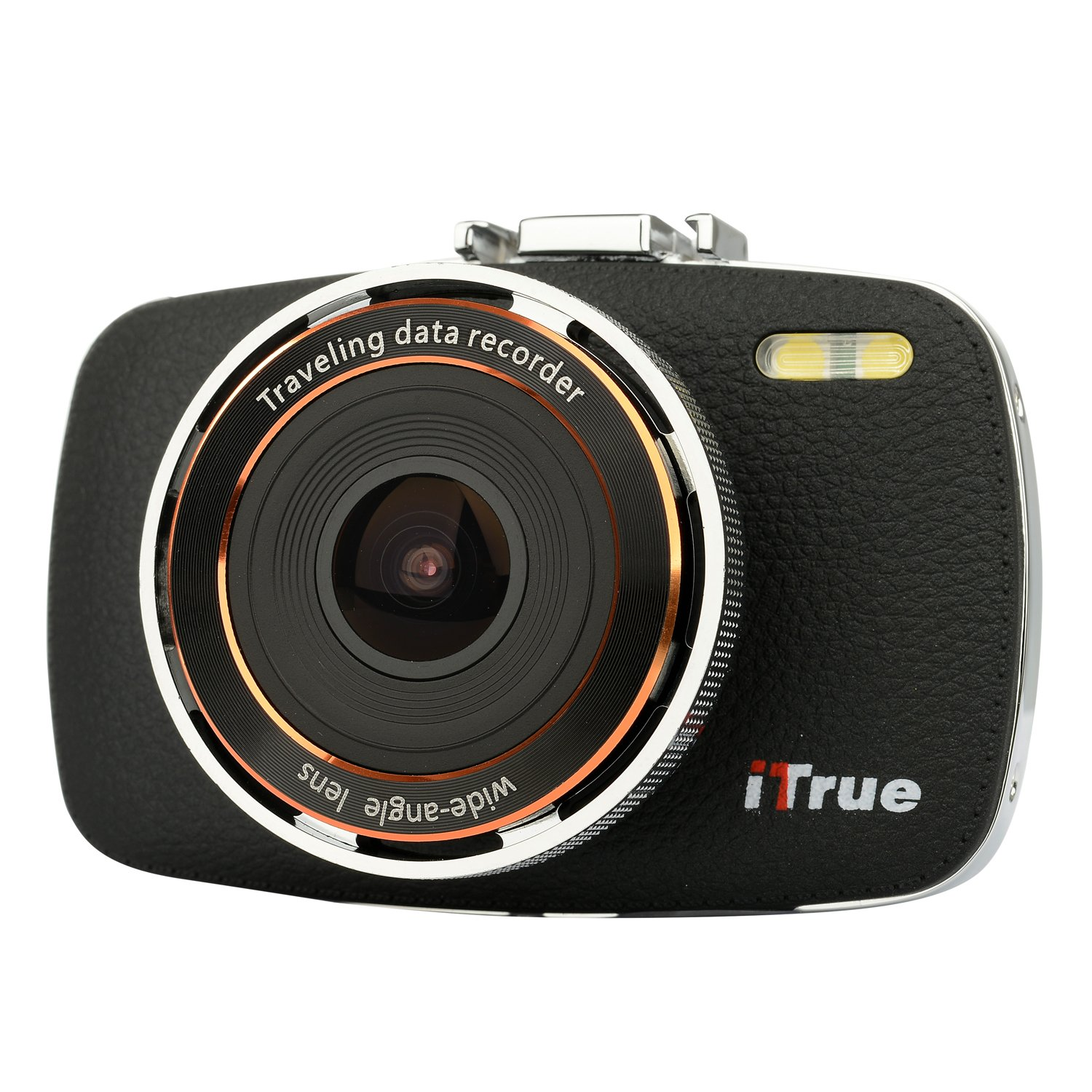 ITrue X3 Dash Cam,2.7Inch LCD,1080P,170 degree Angle,Night Vision and 8GB Card by iTrue