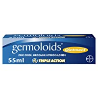 Germoloids Haemorrhoids Treatment and Piles Treatment Ointment, 55 ml